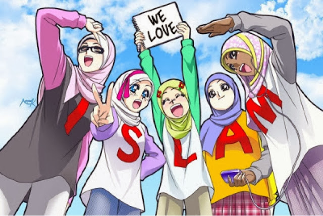 love-islam-cartoon-girl