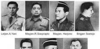 7 Pahlawan Revolusi Gugur Dalam G30S PKI dan Ini Pahlawan Dalam Islam