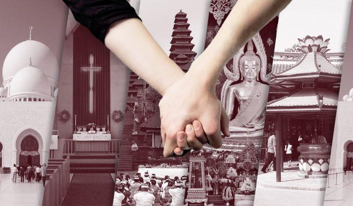 Billy Syahputra dan Amanda Kenakan Busana Pengantin dan Ini Hukum Menikah Beda Agama