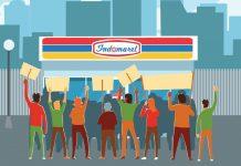 Buruh Boikot Indomaret 2