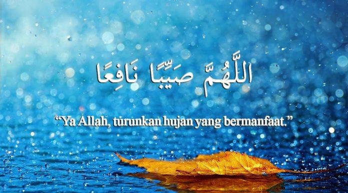 Doa Hujan Turun