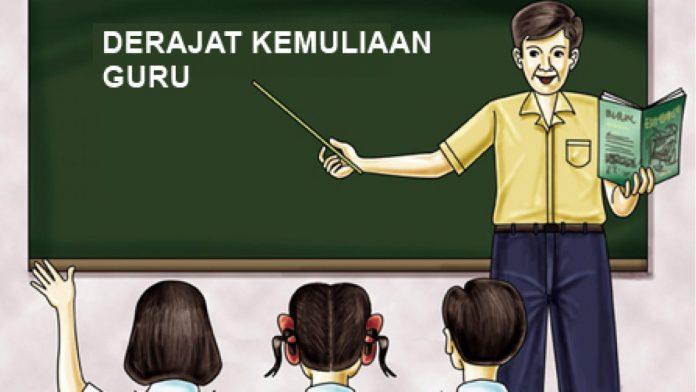 Guru TK Dihukum Mati dan Kemuliaan Guru Dalam Islam