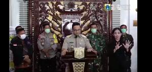Kebijakan PSBB Diberlakukan Gubernur DKI