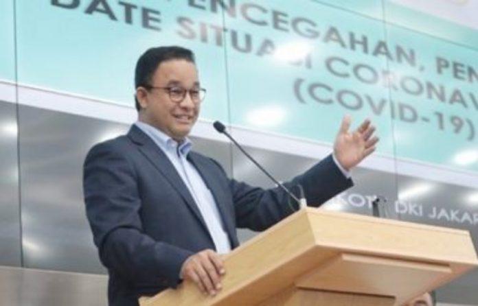 Kebijakan PSBB Dikeluarkan Gubernur DKI