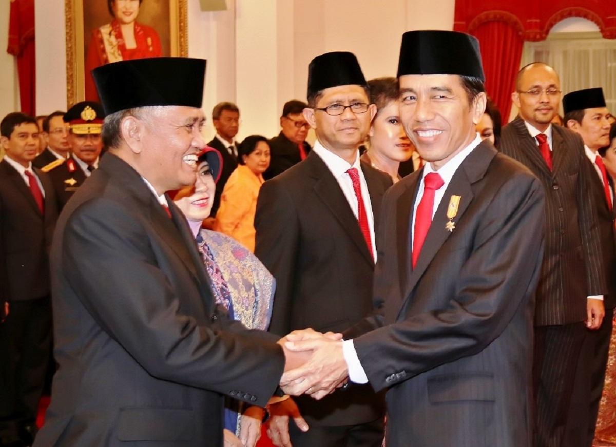 Kepercayaan Jokowi ke KPK