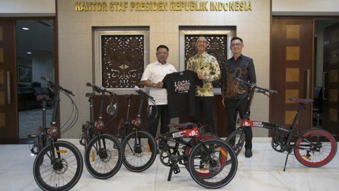 Sumbangan Sepeda Yang Diterima Presiden Jokowi
