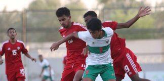 Timnas U-16 Kalah Melawan UEA