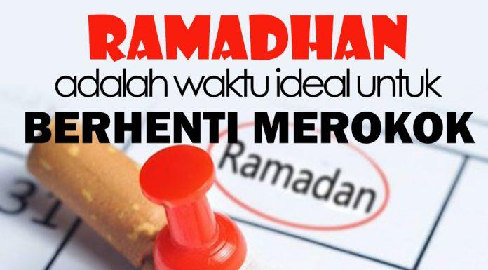 berhenti merokok di bulan ramadhan