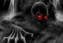 setan dibelenggu