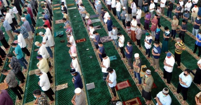 Tata Cara Sholat Idul Adha